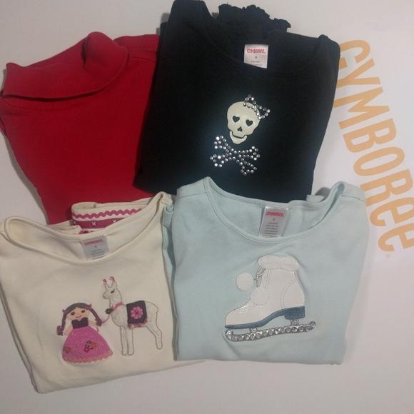 GYMBOREE Set of four t-shirts